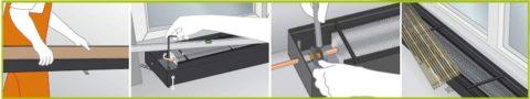 Як встановити системи траншейні опалення