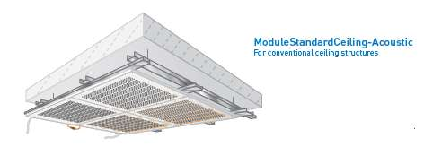 Module - Standard for Ceiling Acoustic