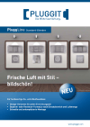 PluggLine - Стандартні покриття - Брошура