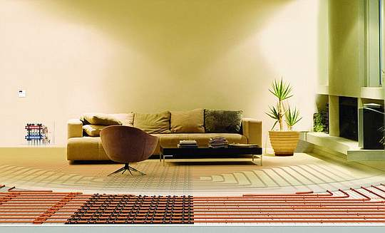 Screed Floor Heating Systems