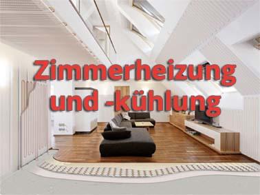 Zimmerheizung und -kühlung