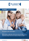 Pluggit Zubehörprogramm Prospekt