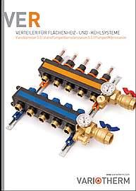 Verteiler für Flächenheiz- und -kühlsysteme Prospekt