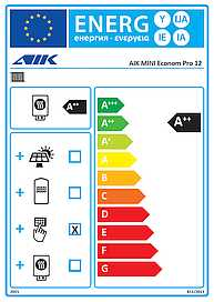 AIK MINI Econom Pro 12 Energy Label -2