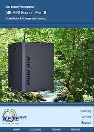 AIK MINI Econom Pro 10 Produkdaten für Energie und Leistung