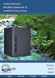 AIK MINI Econom Pro 10 Produktdaten fürEnergie und Leistung