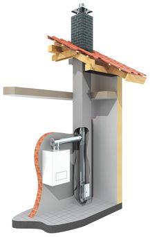 Furado-F-LAS installation example