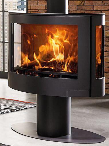 Denia Elyps Floor-standing fireplace / stove