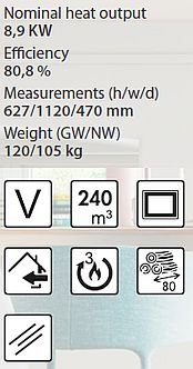 Denia In-Wall Model DF-100 Spezifikationen and Merkmale
