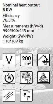 Denia Innsbruck - Специфікація та характеристики