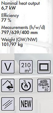 Panadero Atlantic-3V Spezifikationen und Merkmale
