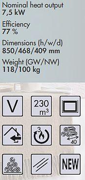 Panadero Condor-3V Spezifikationen und Merkmale