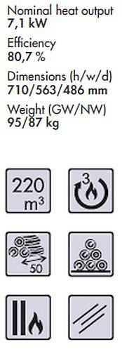 Panadero Vera Spezifikationen und Merkmale