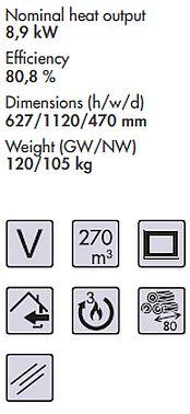 Panadero model 101-S Spezifikationen und Merkmale